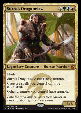 Surrak Dragonclaw - Foil
