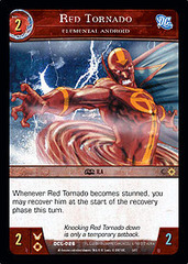 Red Tornado, Elemental Android - Foil