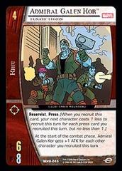 Admiral Galen Kor, Lunatic Legion - Foil