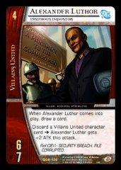 Alexander Luthor, Insidious Impostor - Foil