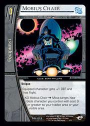 Mobius Chair - Foil - VS System » DC Justice League of