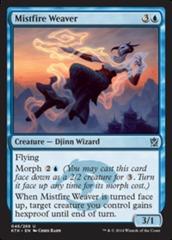 Mistfire Weaver - Foil