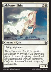 Alabaster Kirin on Channel Fireball