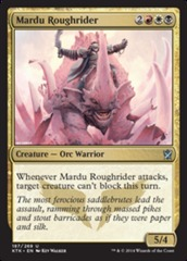 Mardu Roughrider - Foil