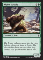 Alpine Grizzly - Foil on Channel Fireball