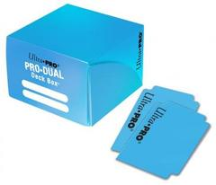 PRO Dual Standard Light Blue Deck Box