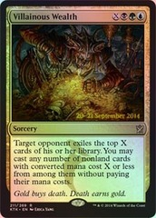 Villainous Wealth Foil - Prerelease Promo