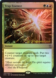 Trap Essence Foil - Prerelease Promo