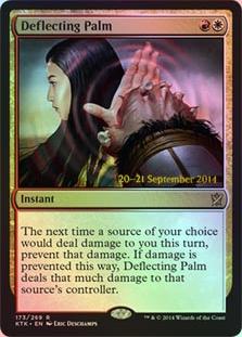 Deflecting Palm (Khans of Tarkir Prerelease)
