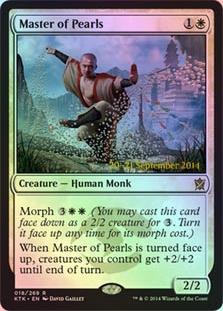 Master of Pearls (Khans of Tarkir Prerelease)
