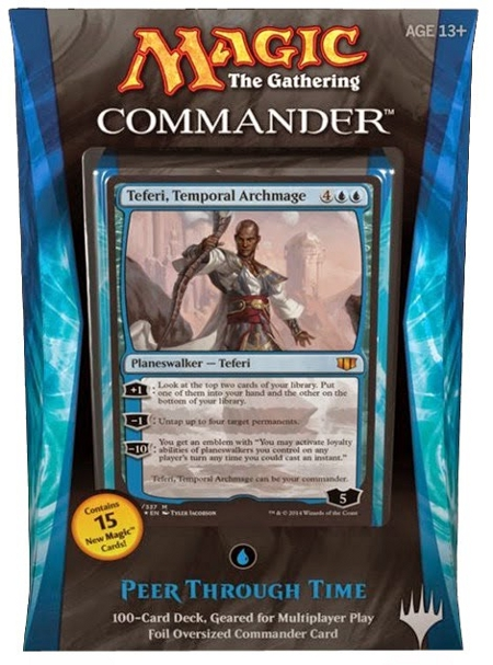 Commander 2014: Peer Through Time (Blue) - German