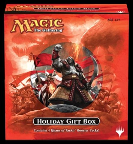 MTG Holiday 2014 Gift Box - Khans of Tarkir