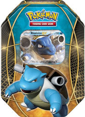 Pokemon EX Power Trio Tin Blastoise -- 2016 VERSION