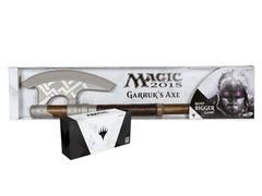 SDCC 2014 EXCLUSIVE M15 Black Planeswalkers Set w/ Garruk's Axe