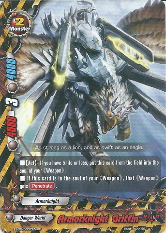 Armorknight Griffin