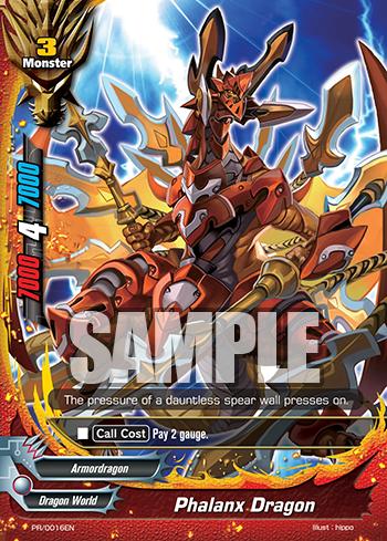 Phalanx Dragon Pr0016en Pr Future Card Buddyfight Products
