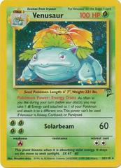 Venusaur - 18/130 - Holo Rare - Unlimited Edition