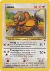 Tauros - 62/130 - Uncommon - Unlimited Edition