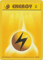 Lightning Energy - 128/130 - Common - Unlimited Edition