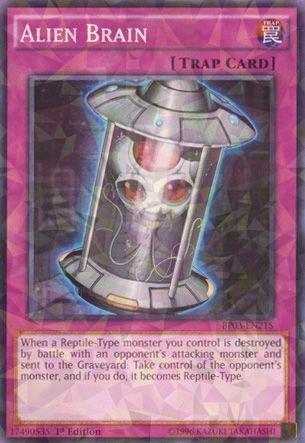 Alien Brain - BP03-EN215 - Shatterfoil - Unlimited Edition