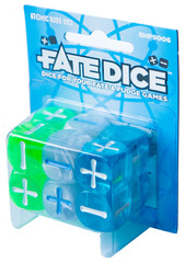 Fate Dice: Atomic Robo Dice