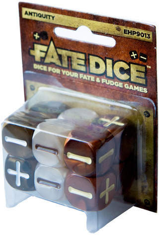 Fate Dice: Antiquity Dice