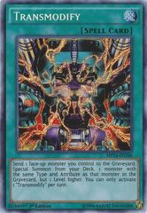 Transmodify - MP14-EN106 - Secret Rare - Unlimited