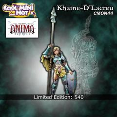 CMON Contest 19 - Khaine-D'Lacreu from Anima Tactics Miniatures (Limited Edition)