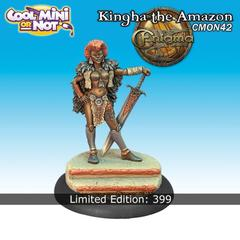 CMON Contest 17 - Kingha the Amazon from Enigma Miniatures (Limited Edition)