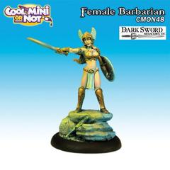 CMON Contest 22 - Classic Female Barbarian from Dark Sword Miniatures (Limited Edition)