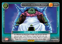 Namekian Knowledge Mastery - 30 - Prism Foil