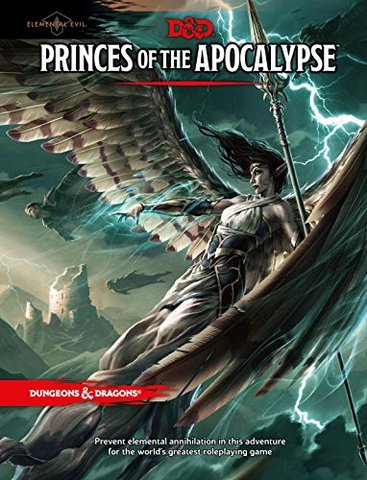 D&D 5th Edition Princes of the Apocalypse