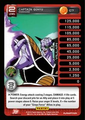 Captain Ginyu - Energized - Foil