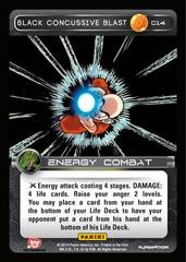 Black Concussive Blast C14 - Foil