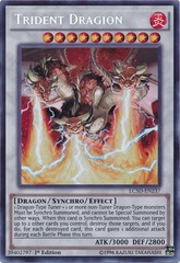 Trident Dragion - LC5D-EN237 - Secret Rare - 1st Edition