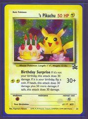 _____'s Pikachu (Birthday Pikachu) - 24 - Wizards Mail Giveaway (September-November 2000)