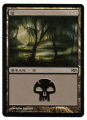 Swamp - Foil Innistrad Cycle