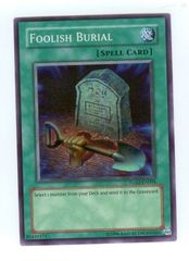 Foolish Burial - TU02-EN004 - Super Rare - Promo Edition