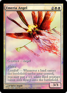 Emeria Angel (Zendikar Game Day)