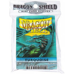 Dragon Shield Small Sleeves - Turquoise (50ct)