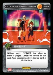 Villainous Energy Sphere UR164 - Foil