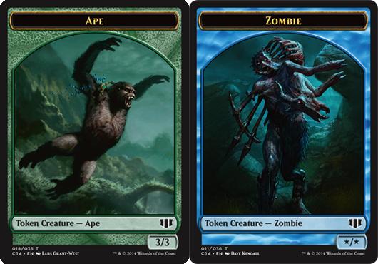 Ape Token // Zombie Token - Blue