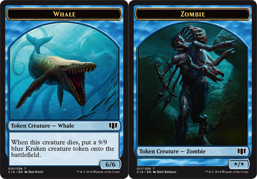 Whale Token // Zombie Token - Blue