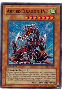 Armed Dragon LV7 - DP2-EN012 - Super Rare - 1st Edition