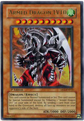 Armed Dragon LV10 - DP2-EN013 - Ultra Rare - 1st Edition on Channel Fireball