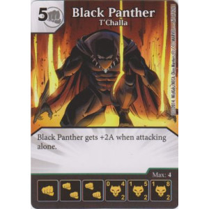 Black Panther - TChalla (Die  & Card Combo)