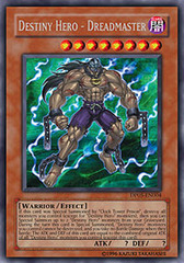 Destiny Hero - Dreadmaster - DP05-EN004 - Rare - 1st Edition on Channel Fireball