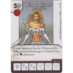 Emma Frost - Archvillian (Die  & Card Combo)