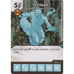 Iceman - Robert Louis Drake (Die  & Card Combo)