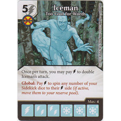 Iceman - Too Cool for Words (Die  & Card Combo)